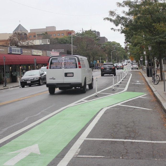 Pictured%3A+The+protected+bike+lane+on+Cambridge+Street.