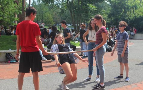 On September 15th, students decorated their homeroom doors and celebrated Welcome Day, a Rindge tradition welcoming freshmen to CRLS and the rest of Rindge back to school.