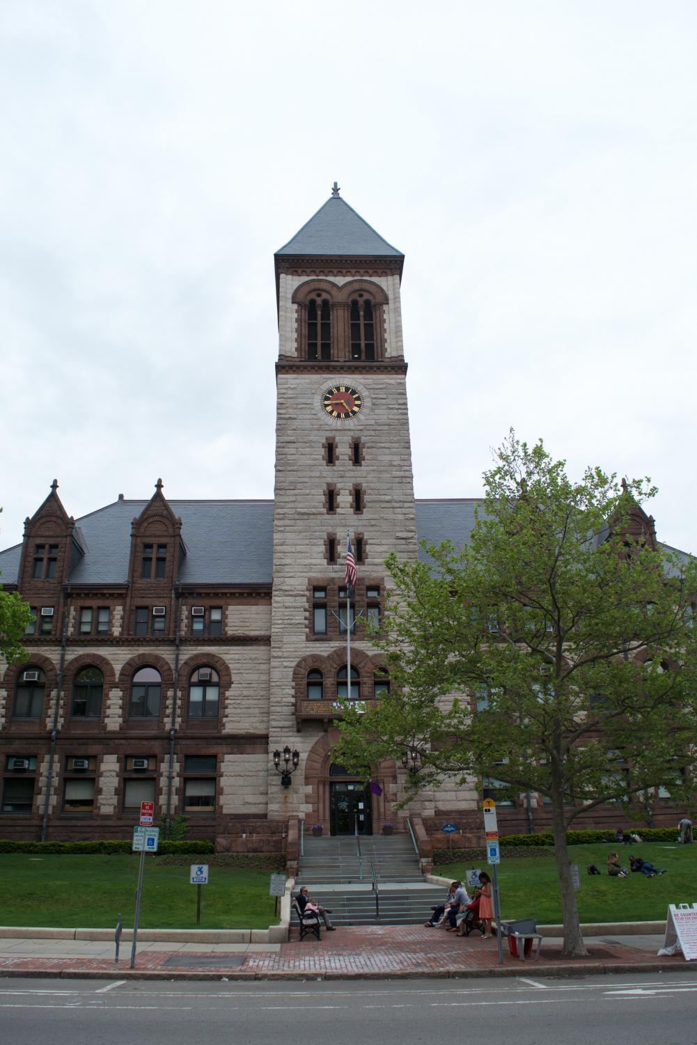 Cambridge City Hall is located in Central Square.