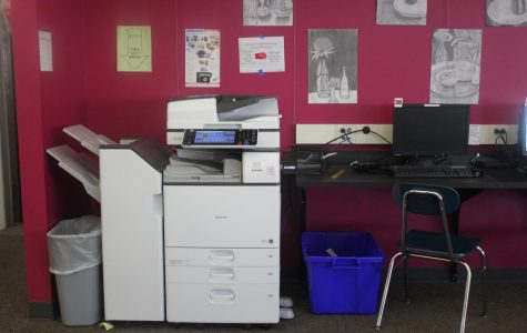 Printers at CRLS printed 29,000 sheets of paper per day in 2013.