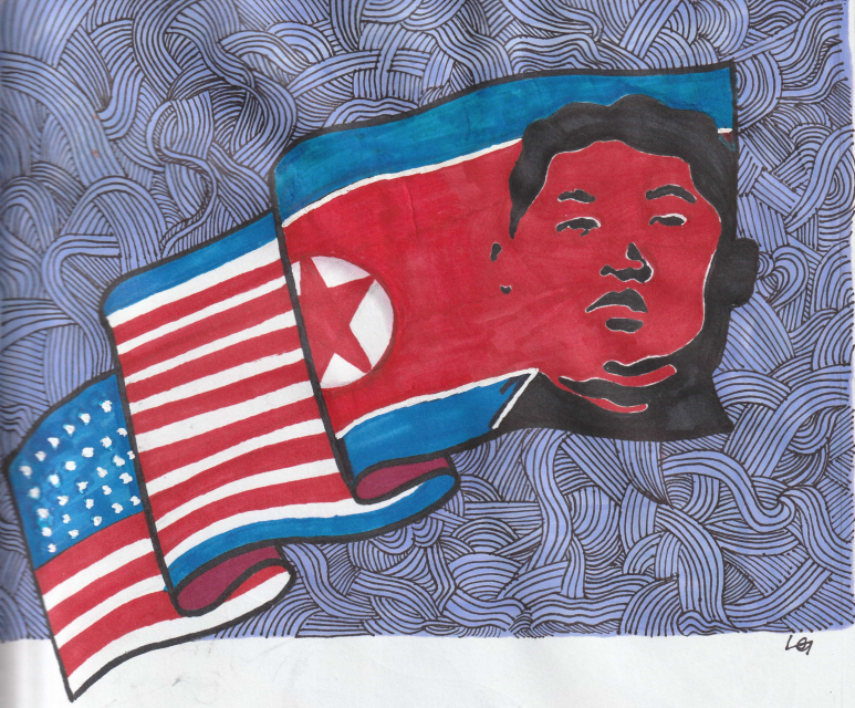 Tensions+between+the+U.S.+and+North+Korea+are+on+the+rise.