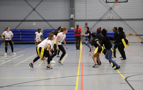 CRLS Students Participate in Powderpuff Game