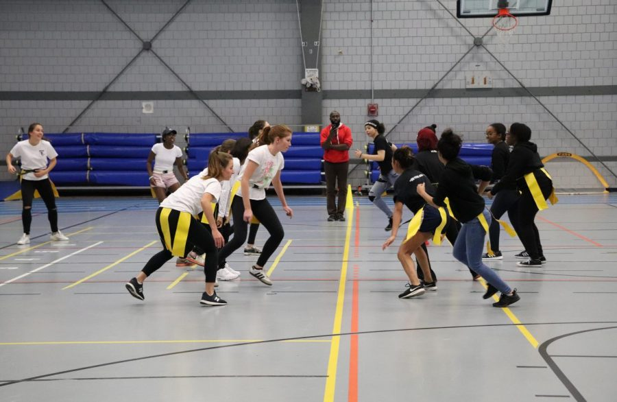 CRLS Students Participate in Powderpuff Game