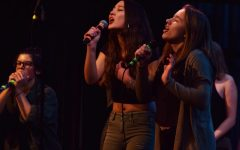 Singin' in the Snow: A Cappella Jam Entertains