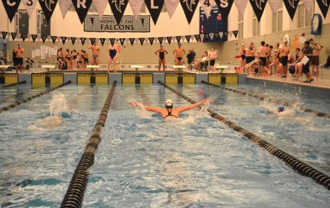 The CRLS swim team had their first home meet on Monday, December 11th.
