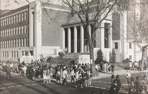 Pictured: Cambridge High and Latin School in 1948.