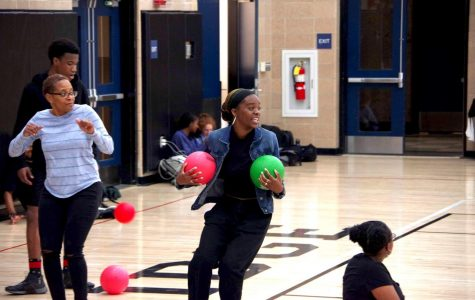 Student Gov. Hosts Students vs. Staff Dodgeball