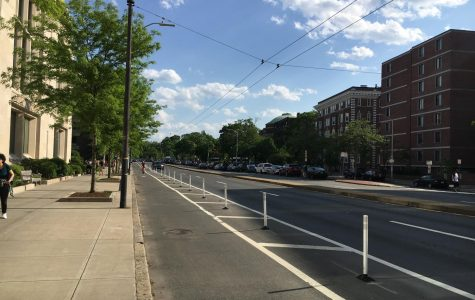Pictured: Mass. Ave., the street where Harvard student Selorm Ohene was arrested.