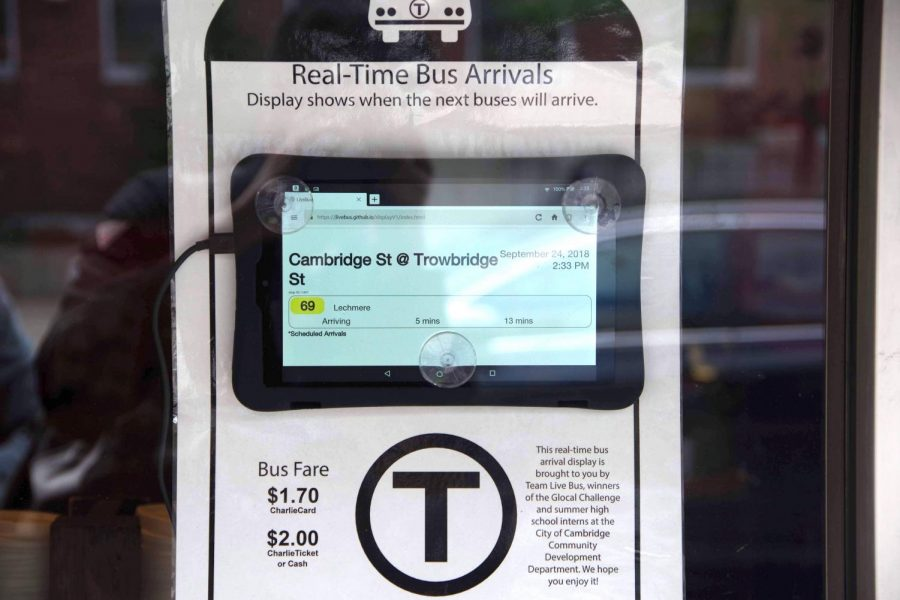 Live Bus was able to install twelve out of thirteen of their real time bus trackers.