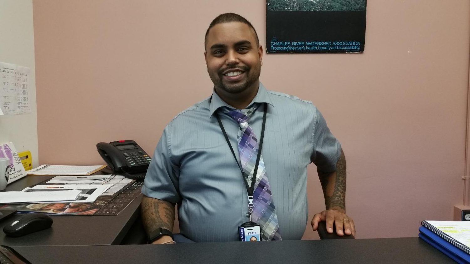 All freshmen's guidance counselors are now either Mr. Roldan or Mr. Hikes (pictured).