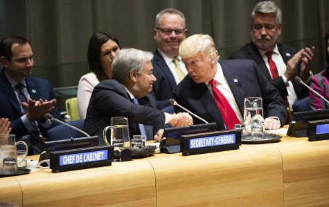 President Trump delivered remarks to the U.N. on September 25th.