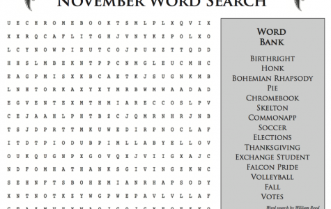 November Word Search