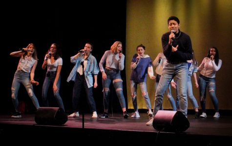 Six CRLS groups performed during the annual Winter A Cappella jam on December 7th.