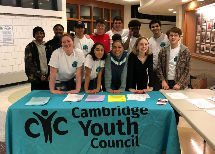 Co-Chairs of CYC: An Update from the Cambridge Youth Council