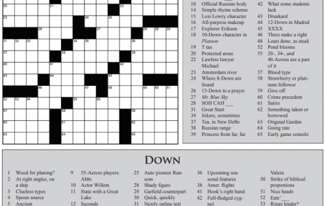 March Madness Crossword
