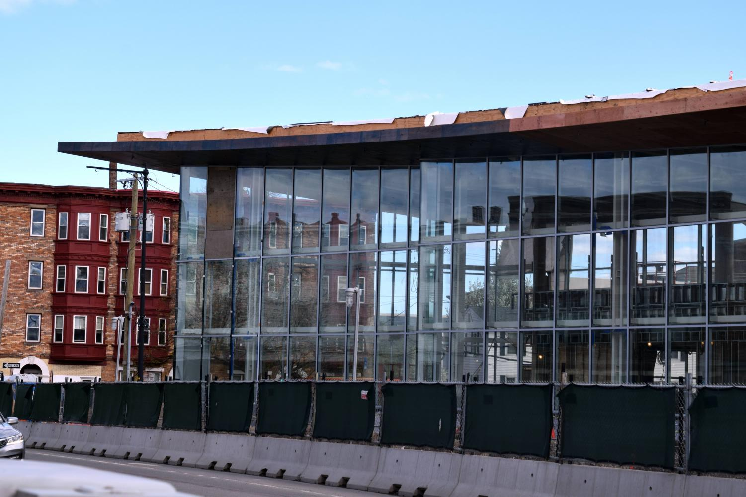 The Cambridge Street Upper School is currently being renovated as part of the Innovation Agenda.