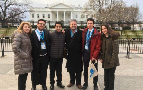 CRLS' UNICEF Club sent four students to the UNICEF Summit.
