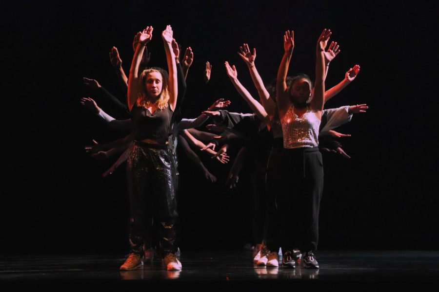 This semester's DANCE/works show incorporated a variety of dance styles.