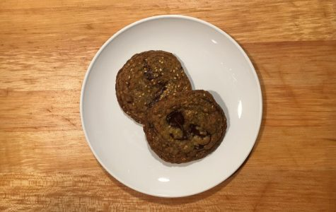 Chocolate and Seed Cookies