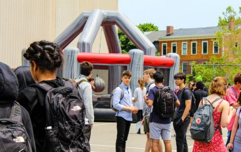 Pictured: Students participating in Nest Fest 2019.