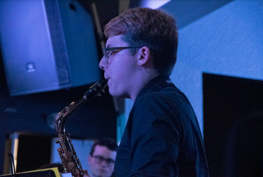 On April 30th, World Jazz Ensemble, Vocal Ensemble, and Big Band performed at the annual Jazz Night.