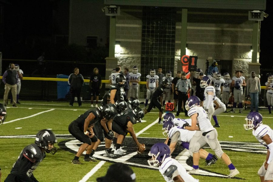 The CRLS football team won their Blackout game against Boston Latin School 47-37.