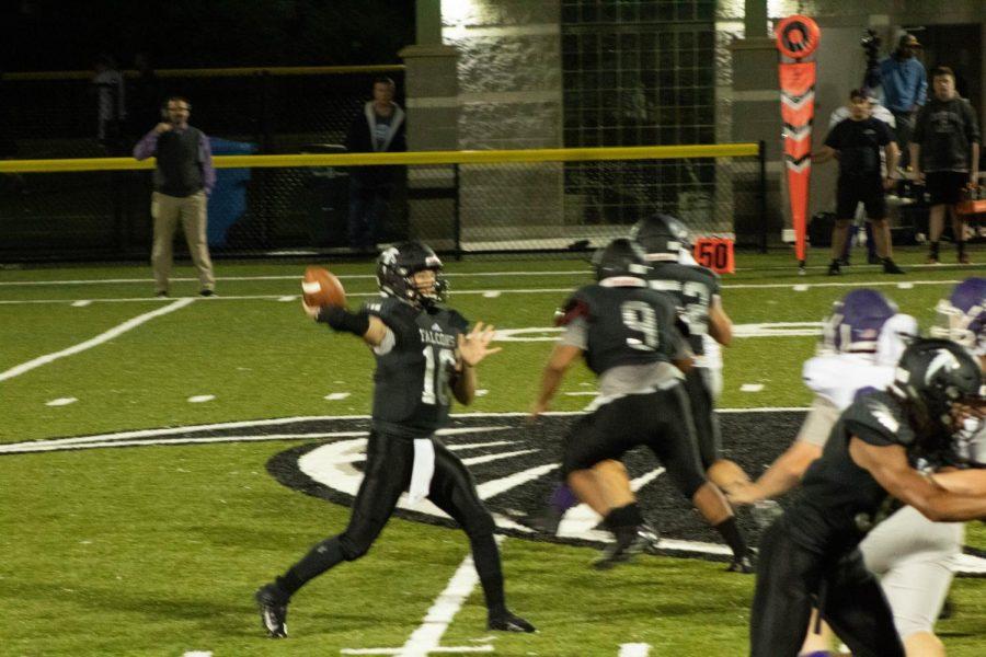 The CRLS football team won their game against Boston Latin School 47-37.