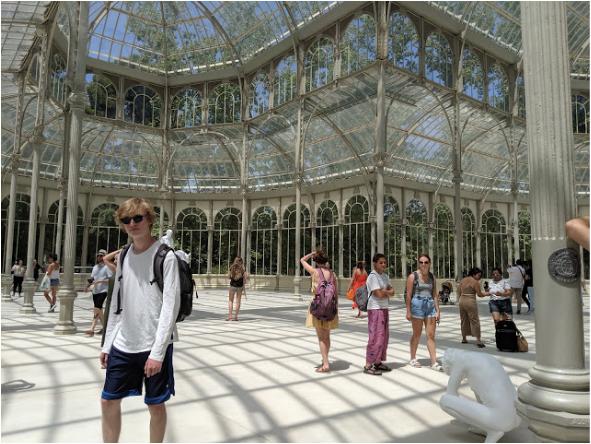 Nacie Loh traveled to Madrid through the CIEE study abroad program.