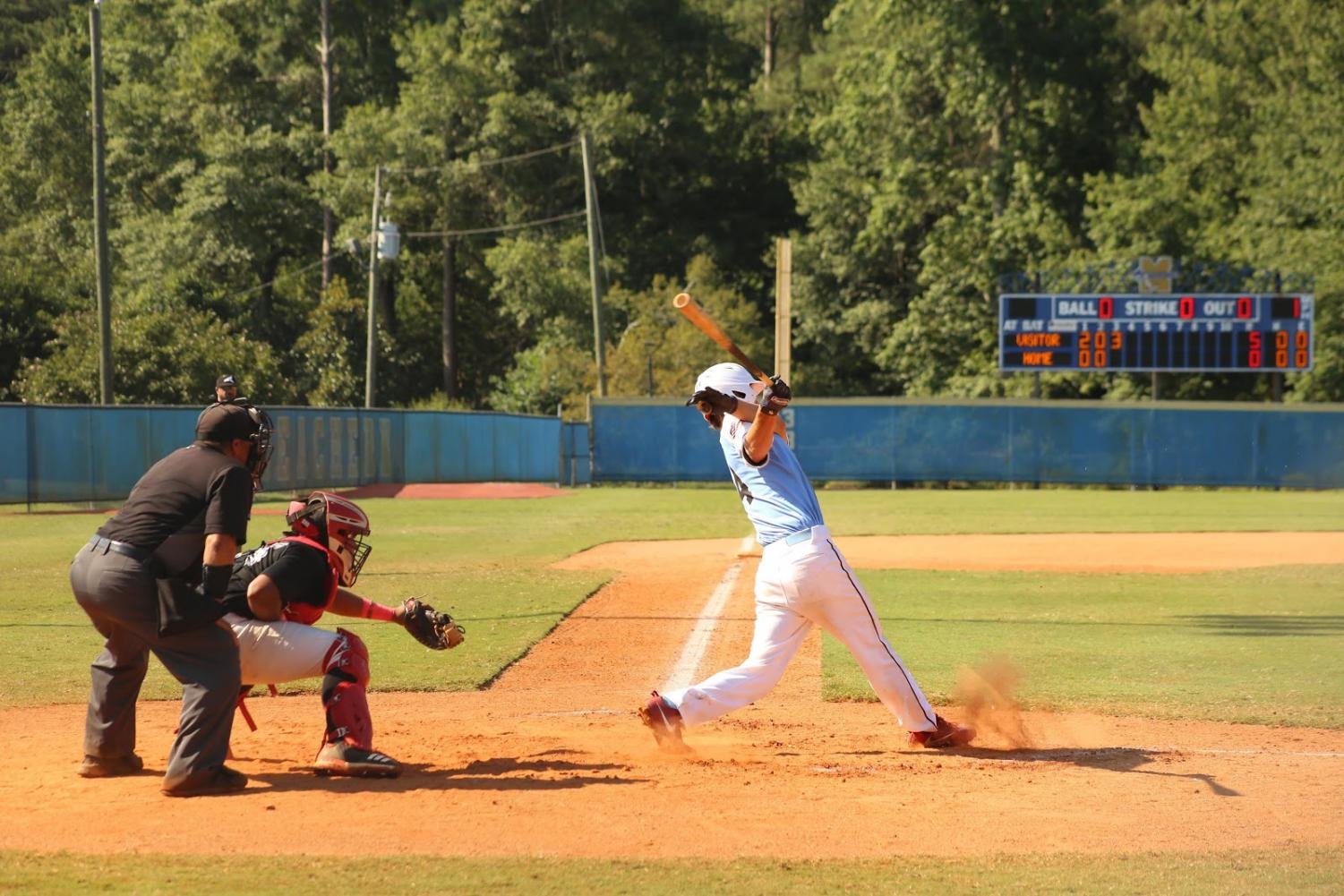 Harrison Brown is currently committed to Austin Peay State University for baseball.