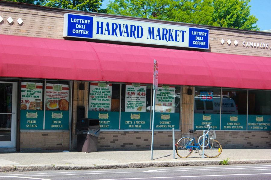 Pictured: Harvard Market, located on Cambridge  Street near CRLS.