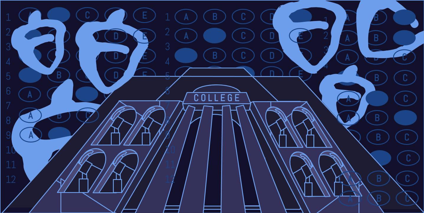 The College Board makes $1.3 billion in revenue per year.
