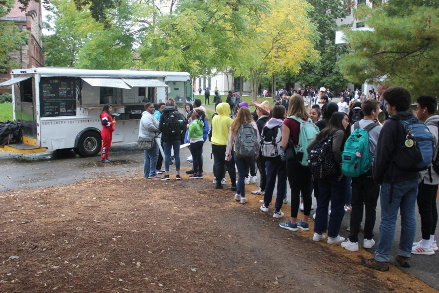 Spanish Club's Food Truck
