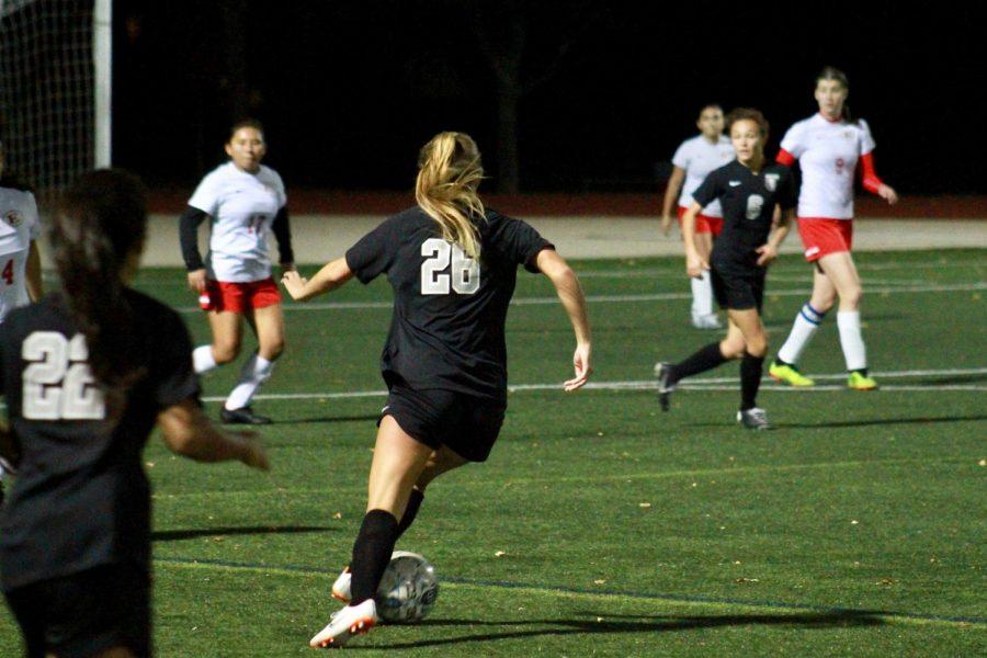 The CRLS girls soccer team won their Senior Night Game against Everett High School 5-0.