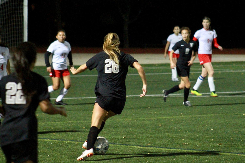 Girls Varsity Soccer Senior Night