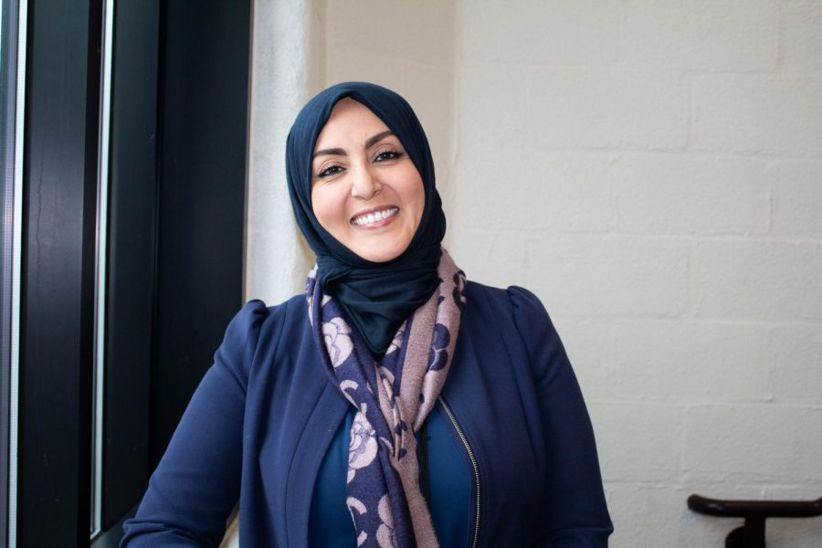 Ms. Bhih Abdelgany teaches French and Arabic at CRLS.