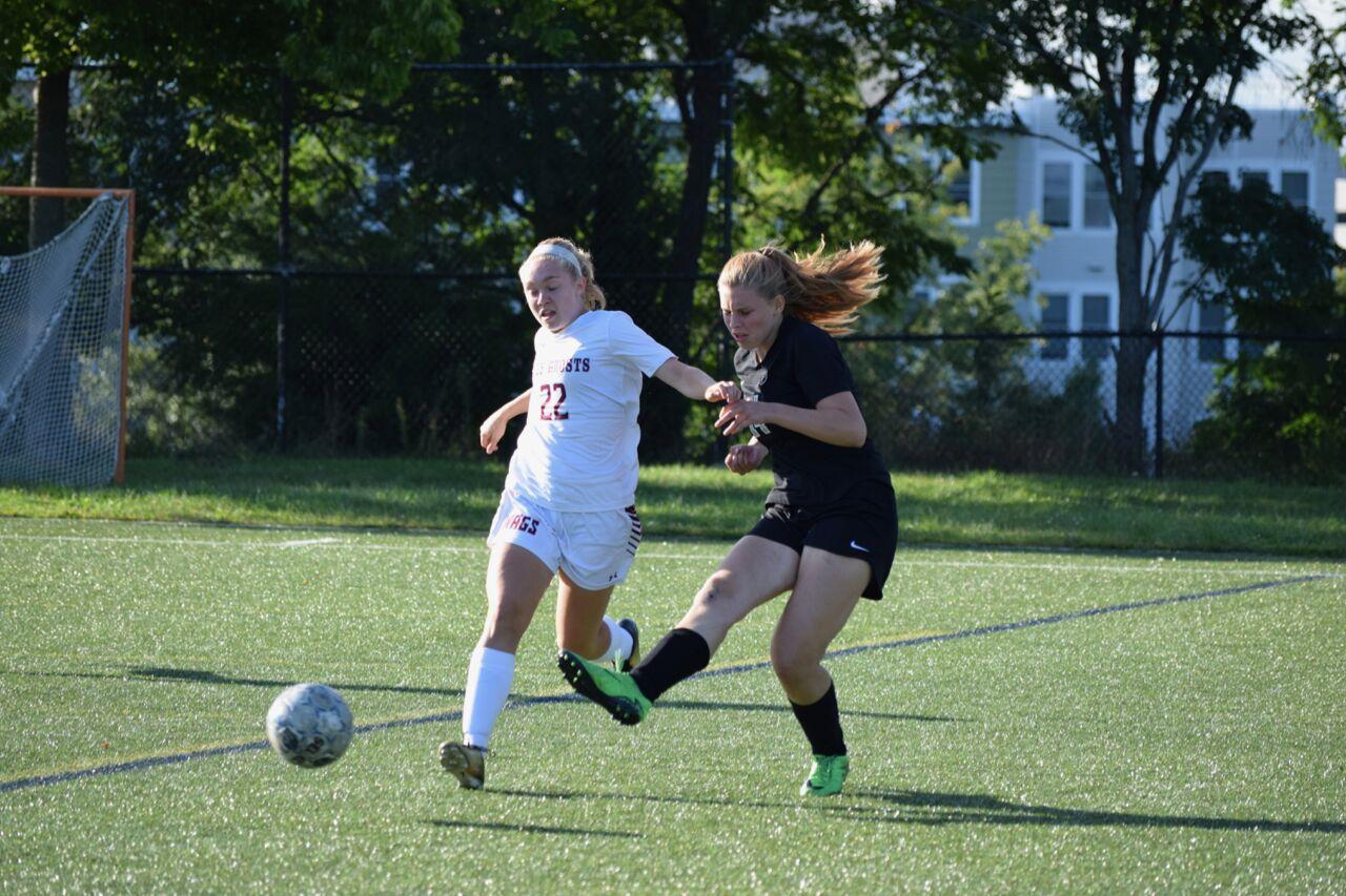 Senior Nellie Baxandall was a captain of the girls varsity soccer team this season.