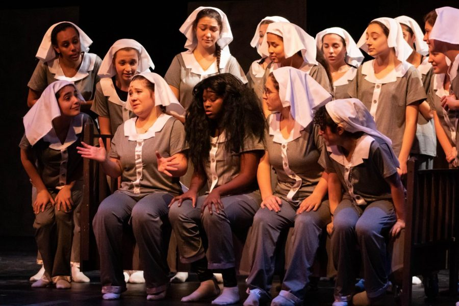For this year's fall   musical, the CRLS   Visual and Performing   Arts Department   performed Sister Act.