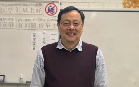 Mr. Shi has taught Chinese at CRLS for twelve years.