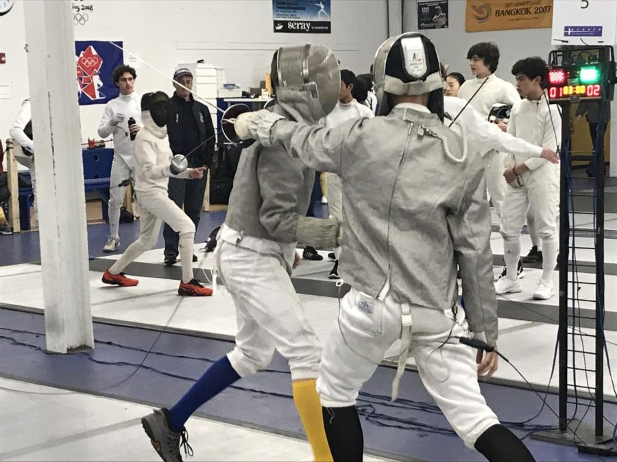 The fencing team is comprised of 31 members.