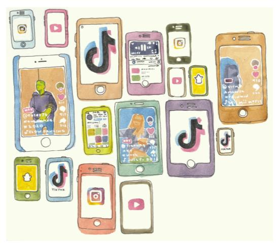 In recent years, Instagram and TikTok have given ordinary people a platform for fame.