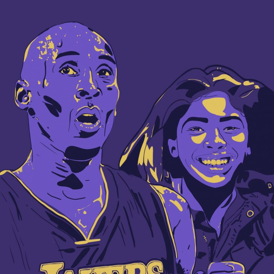 Kobe+Bryant+and+his+daughter%2C+Gianna%2C+died+in+a+fatal+helicopter+crash+on+January+26th.+