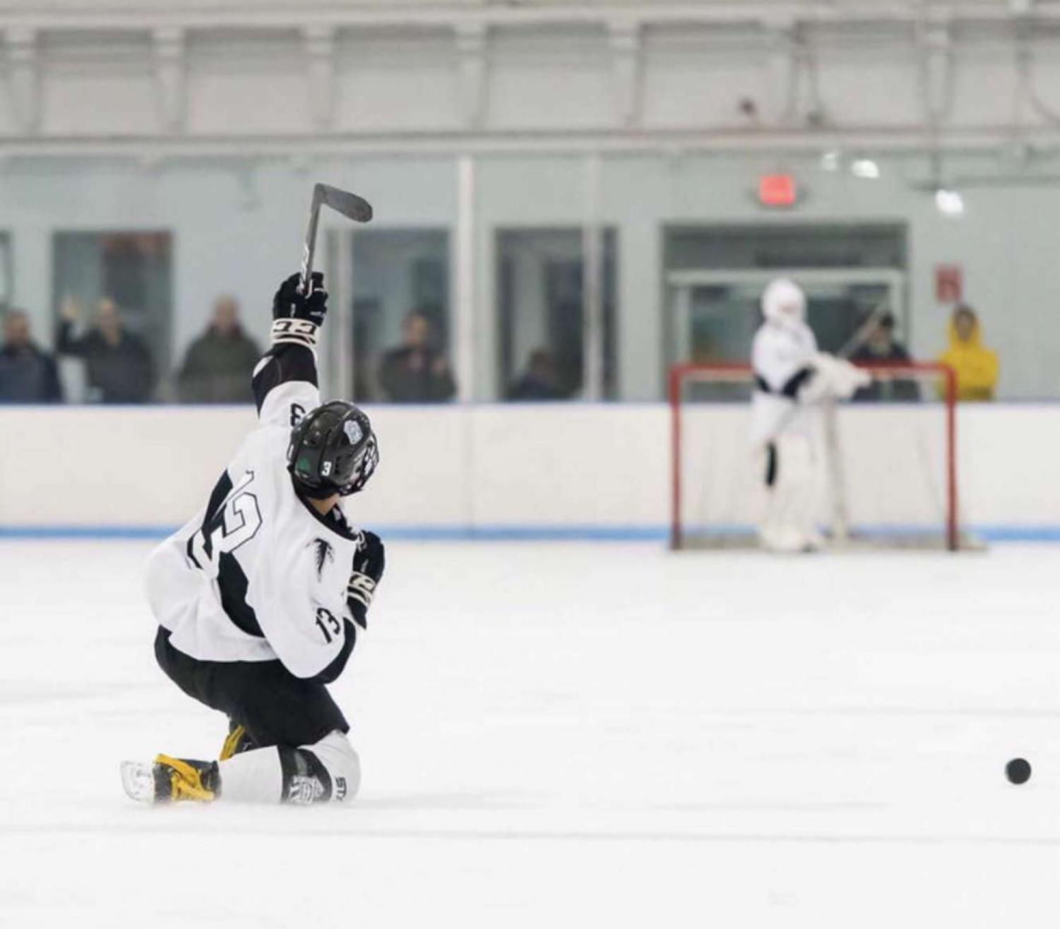 Cambridge Boys Hockey Loses to Lowell in Division 3 North Sectional Finals