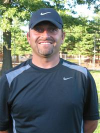 Pictured: Frank Cacia, the head coach of the Watertown Raiders soccer club.