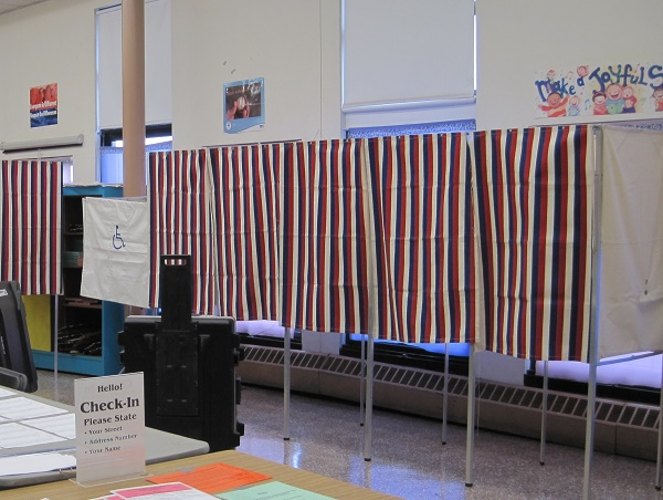 CRLS Students Work the Polls for the 2020 Election