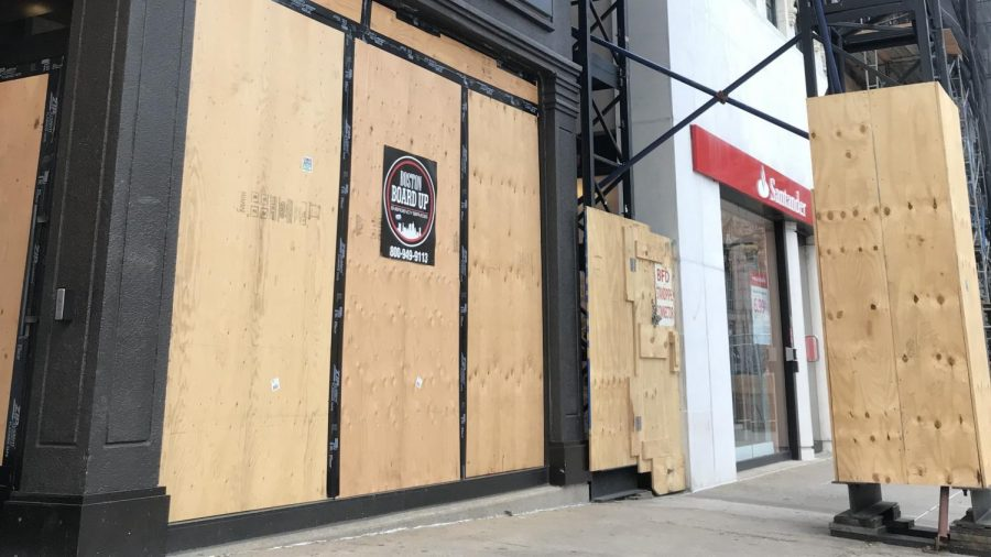 Business in Boston preparing for post-election looting