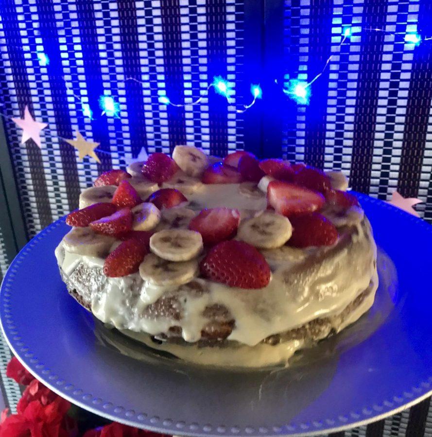 Lalou's cake at her birthday celebration