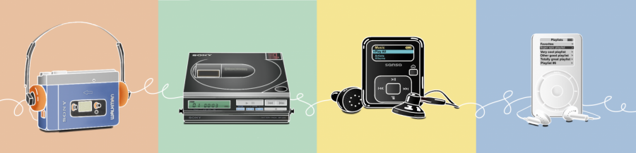 From the Walkman to the iPod: Mobile Music Throughout the Years