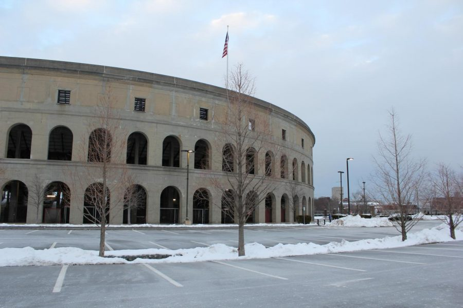 Harvard Stadium, where the college football team usually plays, was closed for the entire season.