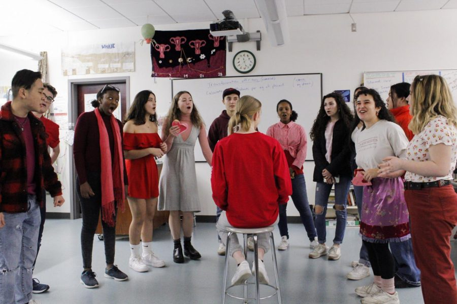 Singing Valentines were impossible this year due to COVID-19, but it is a tradition that will live on.