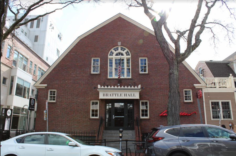 The Brattle Theater, located on Brattle Street in Harvard Square.